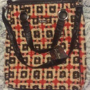 Vera Bradley signature vintage tweed crossbody